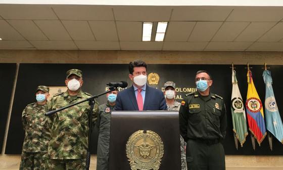 Radican moción de censura contra ministro de Defensa, Diego Molano, por brutalidad policial