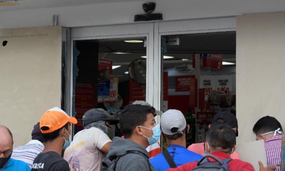 Gremios rechazan actos vandálicos al comercio en Barranquilla