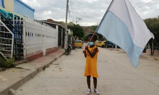 Ponen en marcha 'Saca tu bandera', campaña de resiliencia de samarios
