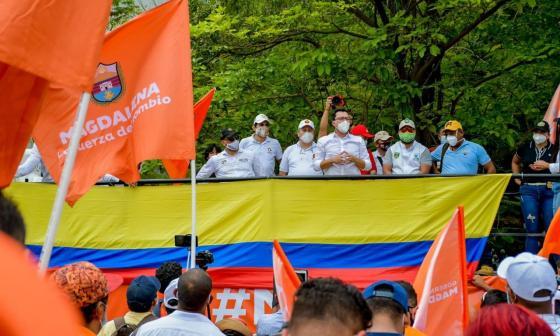 Indagan a tres mandatarios en el marco de las manifestaciones
