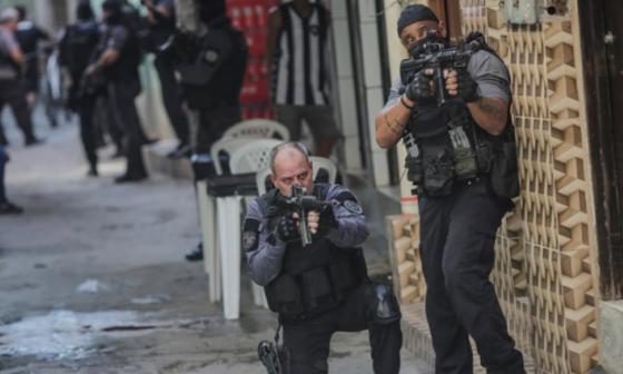 Cifra de muertos en operativo en favela de Río de Janeiro asciende a 28