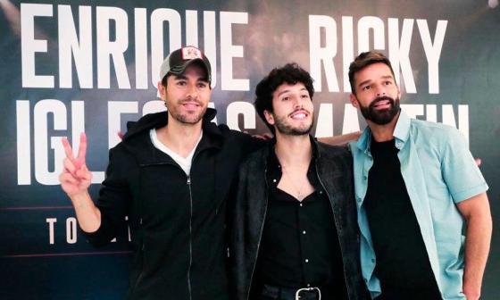 Yatra de gira con Ricky Martin y Enrique Iglesias