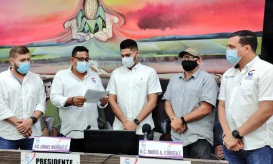 Oficializan curul para el nuevo concejal de Montería