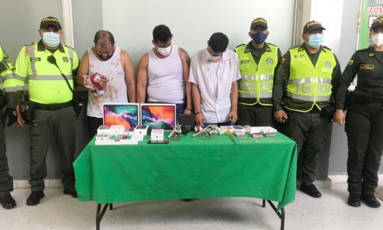 Capturados por millonario hurto en Miramar no aceptaron cargos