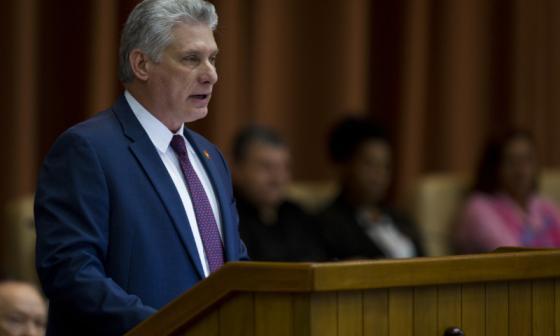Cuba dice que no interviene en las protestas en Colombia
