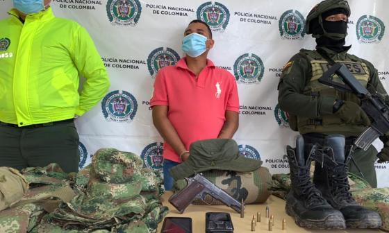 Capturan presunto integrante del Eln en Fonseca, La Guajira