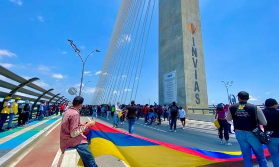 Bloqueo en el Pumarejo perjudica a la Costa