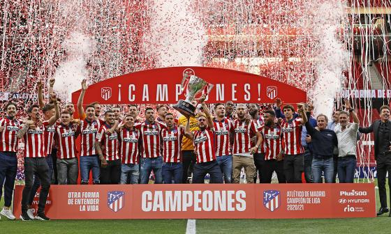 Luis Suárez continuará en el Atlético de Madrid