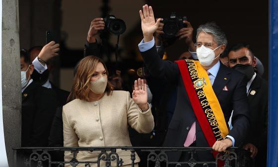 Guillermo Lasso jura como presidente de Ecuador ante Asamblea