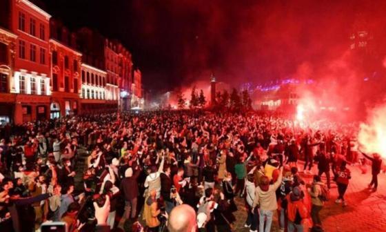 Siete detenidos y veinte heridos en la celebración del título del Lille en la Ligue 1