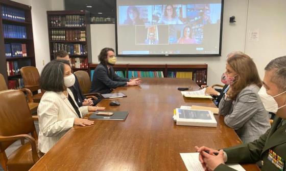 CIDH: Marta Lucía Ramírez afirma que Colombia enviará la información solicitada