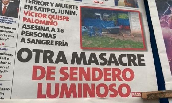 Sendero Luminoso, Perú debate entre masacres, drogas y política