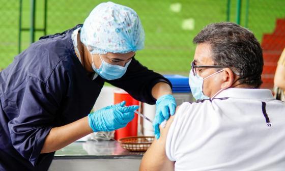 Más de 6 mil vacunas fueron aplicadas en Sucre en jornada nacional
