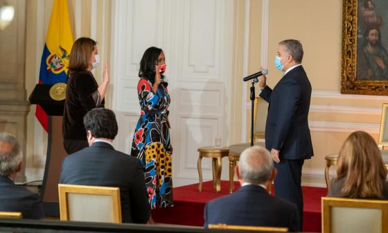 María Ximena Lombana, nueva ministra de Comercio