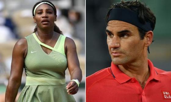 """Roland Garros despide a los """"cuarentones"""" Federer y Serena"""