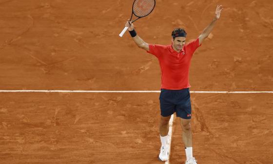 Federer no jugará su partido de octavos de final ante Mateo Berrettini