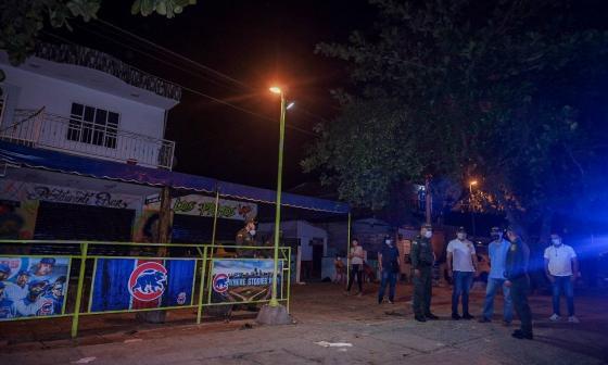 Dau felicita a cartageneros por acatar ley seca y toque de queda