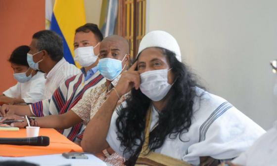 En Santa Marta concertan con indígenas proyectos con los recursos de regalías