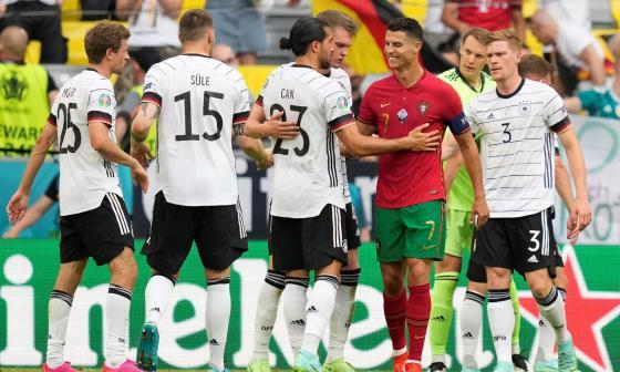Alemania frena a la Portugal de Cristiano