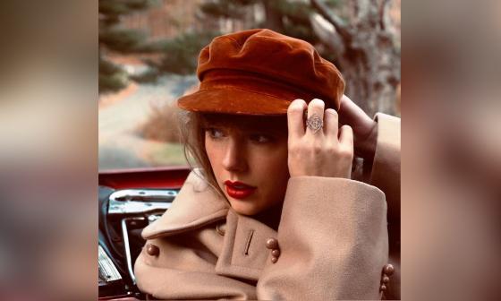 Taylor Swift relanzará su disco 'Red' con una lista de 30 canciones