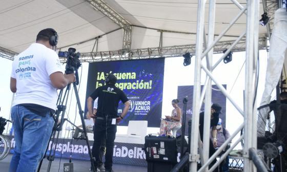 Conmemoración del Día Mundial del Refugiado y desplazado en Barranquilla