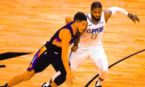 Los Suns toman ventaja ante los Clippers con un espléndido Booker