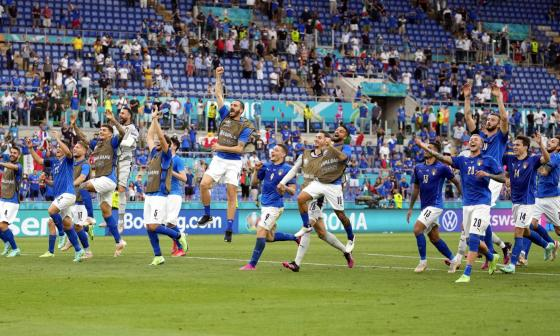 Italia completó una fase de grupos perfecta en la 'Euro'