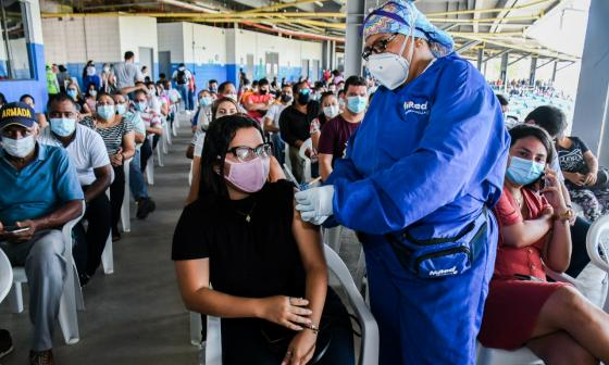 Barranquilla se acerca a las 500 mil dosis aplicadas