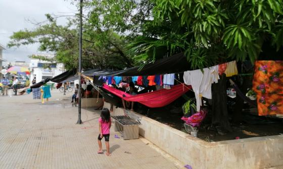Piden mejorar atención para indígenas desplazados en Montería