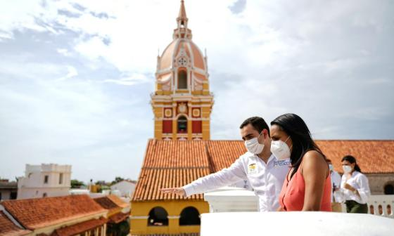 Mincultura y Bolívar harán intervención de obras en Cartagena y Mompox