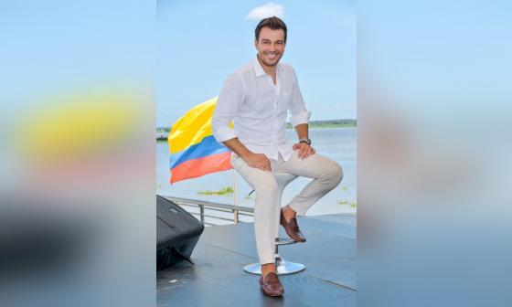 """""""Yo estoy para las que sea por Colombia y Venezuela"""": Luciano D"""