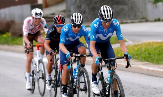 Movistar seguirá apoyando al equipo ciclista hasta 2023