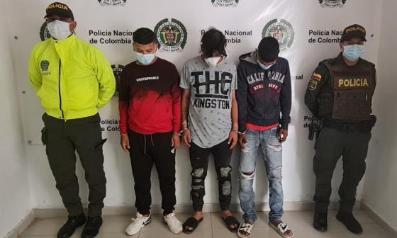 Policía desarticula banda criminal 'los Coles'