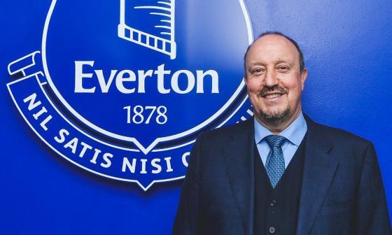 James Rodríguez y Yerri Mina tienen nuevo entrenador: Rafa Benítez llega al Everton
