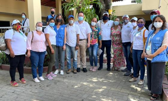 Misión de verificación se reunió con víctimas en Montes de María