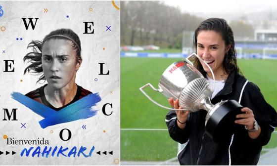 Nahikari, primer fichaje del Real Madrid femenino