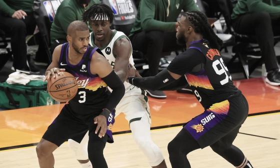 Suns dominan la lucha por el Anillo de la NBA