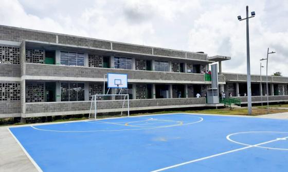 Entregan nuevo colegio en zona rural de Majagual, en Sucre