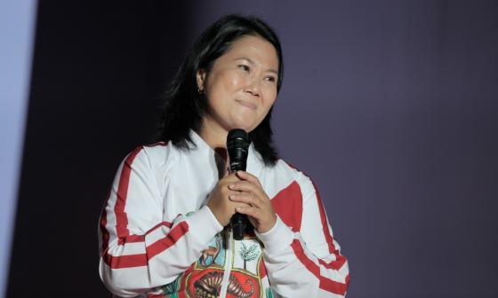Fujimori lanza ofensiva al cierre de proclamación
