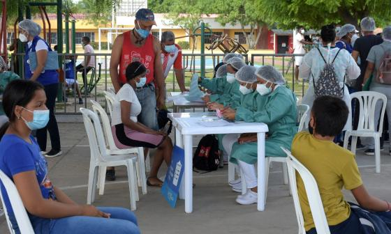 Atlántico continúa con el  plan de unificación de etapas de vacunación