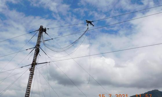 Energía en Arauca podría restablecerse antes del 19 de julio