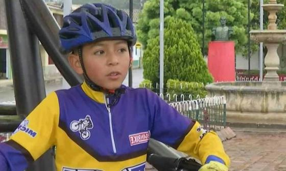 Julián Gómez iba a ser un gran ciclista dijo su tío Guillermo