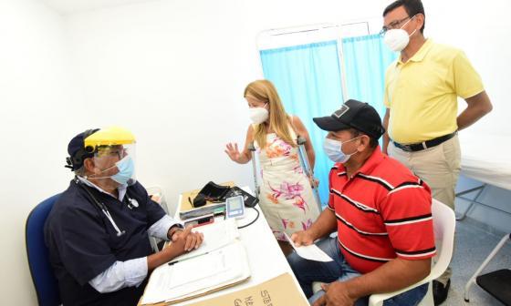 Gobernación del Atlántico inauguran puestos de salud en Cuatro Bocas y Santa Verónica