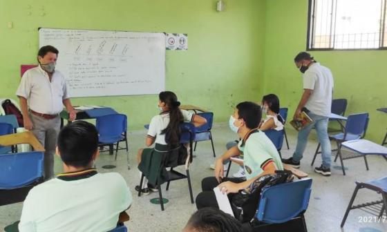 En Sincelejo más colegios se suman al retorno a las aulas