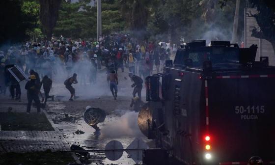 Disturbios en la calle 17 dejaron cinco heridos dice la Policía Metropolitana