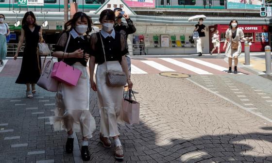 Tokio suma 1.979 casos de covid en víspera de la inauguración de los JJ. OO.