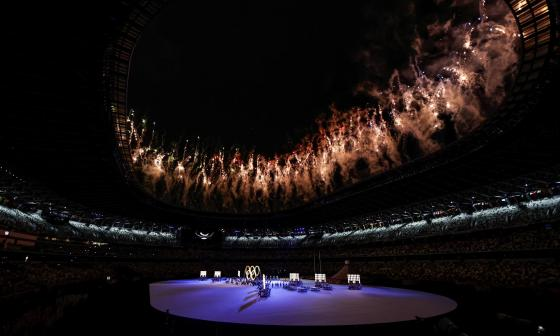Juegos Olímpicos de Tokio tuvieron una gran inauguración