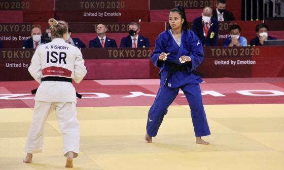 Luz Adiela Álvarez pierde y acaban las esperanzas colombianas en el judo olímpico