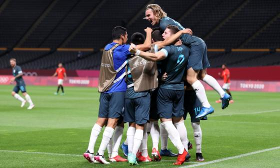 Argentina venció a Egipto y sigue con vida en los Juegos Olímpicos de Tokio