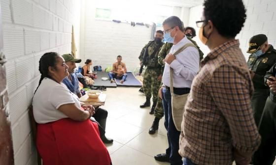 Más de 2 mil desplazados por choques armados en Ituango